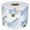 Envision High-Capacity Standard Bath Tissue, 1-Ply, White, 1500/roll, 48/carton