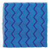 Hygen Microfiber Cleaning Cloths, 16 X 16, Blue, 12/carton