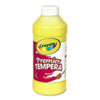 Premier Tempera Paint, Yellow, 16 oz