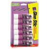 Permanent Glue Stics, Purple Application, .26 Oz, 6/pack