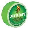 "Ducklings Ducktape, 9 Mil, 3/4"" X 180"", Lime"