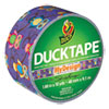 """Colored Duct Tape, 9 Mil, 1.88"""" X 10 Yds, 3"""" Core, Retro Owl"""