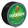 """Ducklings Ducktape, 9 Mil, 3/4"""" X 180"""", Black"""