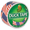 """Colored Duct Tape, 9 Mil, 1.88"""" X 10 Yds, 3"""" Core, Us Flag"""