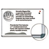 Magne-Rite Magnetic Dry Erase Board, 36 x 24, White, Silver Frame