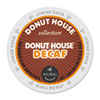 Donut House Decaf Coffee K-Cups, 24/Box