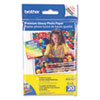 Brother BP-61GLP Premium Glossy Photo Paper, 4 x 6