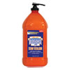 Orange Heavy Duty Hand Cleaner, 3 Liter Pump Bottle, 4/carton