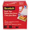 "Book Repair Tape, 3"" x 15yds, 3"" Core, Clear"