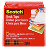 "Book Repair Tape, 1 1/2"" x 15yds, 3"" Core, Clear"