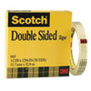 Double-Sided Tape, 1/2 X 1296, 3 Core, Clear