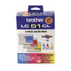 Brother® LC513PKS Inkjet Cartridge