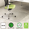 ENVIRONMAT ALL DAY USE CHAIR MAT FOR HARD FLOORS, 46 X 60, RECTANGULAR, CLEAR