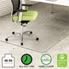 ENVIRONMAT ALL DAY USE CHAIR MAT FOR HARD FLOORS, 45 X 53, WIDE LIPPED, CLEAR