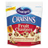 Craisins Fruit Clusters, Cranberry Almond, 8 oz Bag, 12/Carton