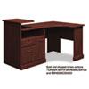 Expandable Corner Desk Solution (b/f/d) Box 2 Of 2 Syndicate, Harvest Cherry