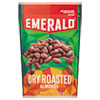 Dry Roasted Almonds, 5 oz Pack, 6/Carton