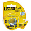 "DOUBLE-SIDED REMOVABLE TAPE IN HANDHELD DISPENSER, 1"" CORE, 0.75"" X 33.33 FT, CLEAR"