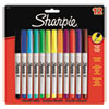 Permanent Markers, Ultra Fine Point,, Assorted Colors, 12/Pack