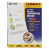 Cleer Adheer Self-Adhesive Laminating Film, 2 Mil, 9 X 12, 50/box