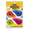 "Wite-Out Ez Correct Correction Tape, Non-Refillable, 1/6"" X 400"", 4/pack"