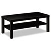 Laminate Occasional Table, 42w x 20d x 16h, Black