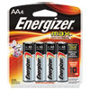 Max Alkaline Batteries, Aa, 4 Batteries/pack