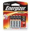 Max Alkaline Batteries, Aaa, 4 Batteries/pack