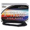 X-Treme File Bands, 117b, 7 X 1/8, Black, Approx. 175 Bands/1lb Box