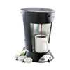 My Cafe Pour-Over Commercial Grade Coffee/Tea Pod Brewer, Stainless Steel, Black