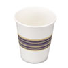 Paper Hot Cups, 8oz, Blue/Tan, 50/Bag, 20 Bags/Carton 8HOTCUP