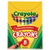 Classic Color Crayons, Tuck Box, 8 Colors