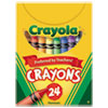Classic Color Crayons, Tuck Box, 24 Colors