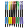 Deluxe Mechanical Pencil, .7 Mm, Assorted Barrel, 10/pack