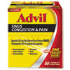 Sinus Congestion & Pain Relief, 50/Box
