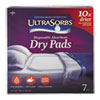 Ultrasorbs Disposable Dry Pads, 23 X 35, Blue, 7/box