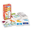 Flash Cards, U.S. States and Capitals, 3w x 6h, 109/Pack