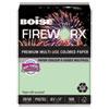 Fireworx Colored Paper, 20lb, 8-1/2 X 11, Popper-mint Green, 500 Sheets/ream
