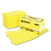 Masslinn Dust Cloths, 24 x 24, Yellow, 50/Bag, 2 Bags/Carton