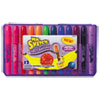 Scented Crayons, Gel, Assorted, 12/pack
