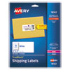 LABEL,SHIPPING,2X4,100/PK
