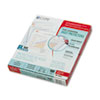 Standard Weight Polypropylene Sheet Protector, Clear, 11 x 8 1/2, 100/BX