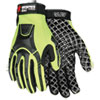 Cut Pro Mc500 Gloves, High Vis Lime/black, Medium