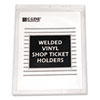 C-Line® Clear Vinyl Shop Ticket Holder