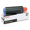 Canon GPR17 Black Toner Cartridge