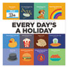 Picture of Every Day's A Holiday Box Calendar 5 12 x 5 12 2017