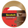 "3750 Commercial Grade Packaging Tape, 1.88"" x 54.6yds, 3"" Core, Tan"
