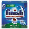 Powerball Dishwasher Tabs, Fresh Scent, 32/box