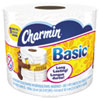 Basic Bathroom Tissue, 1-Ply, 4 x 3.92, 385 Sheets/Roll, 48 Rolls/Carton