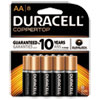 CopperTop Alkaline Batteries with Duralock Power Preserve Technology, AA, 8/Pk